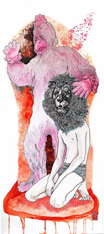 Le-Lion-Terrassé-by-Elia-Pagliarino