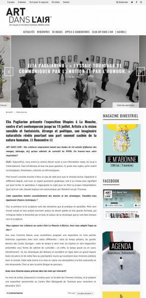 Interview Art dans l'Air web // mai 2017