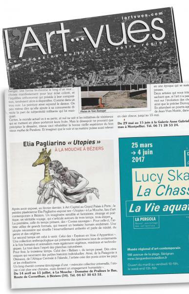 Article dans Art vues avril 2017