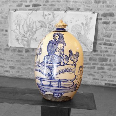 Balise Battambang céramique