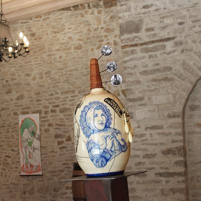 Balise Borgo Santa Rita, céramique