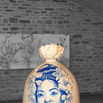 Balise Philadelphia (Billie Holiday), céramique