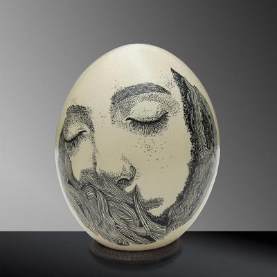 Cocon n°6 / Elia Pagliarino / haut. env. 16 cm