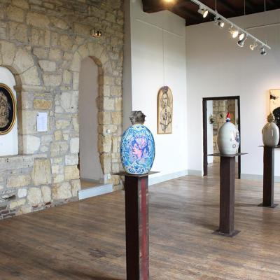 céramiques Balises et peintures sur bois