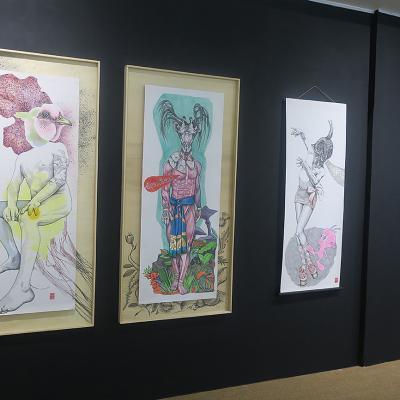 Les Contes Sauvages, dessins