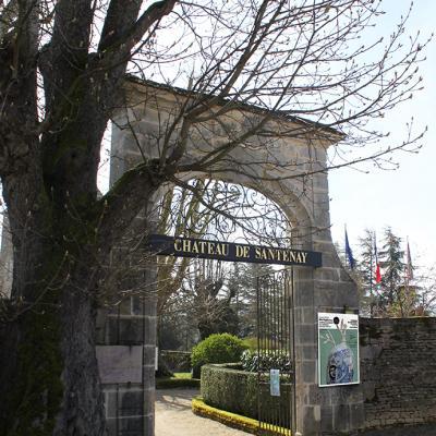 Entrée de l'exposition Château de Santenay