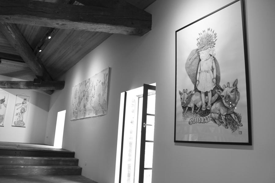 Exposition Elia Pagliarino à LA MOUCHE, Béziers