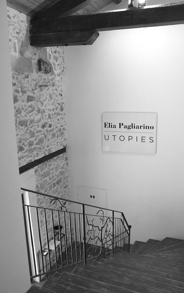 Exposition Elia Pagliarino à LA MOUCHE, Béziers, entrée