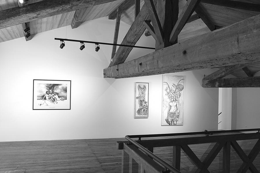Exposition à La Mouche, Loth et ses Filles, Elia Pagliarino