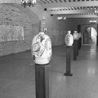 Exposition Château de Santenay Bourgogne