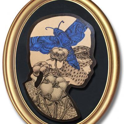 Profilo, Les Champs de Coton / Elia Pagliarino / 50 x 70 cm
