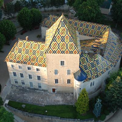 Le Château de Santenay, Bourgogne