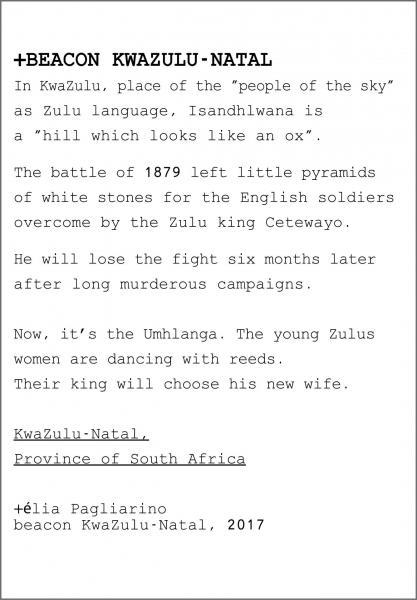 Text kept in Beacon Kwazulu-Natal