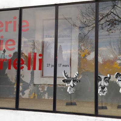 Vitrine Galerie Annie Gabrielli
